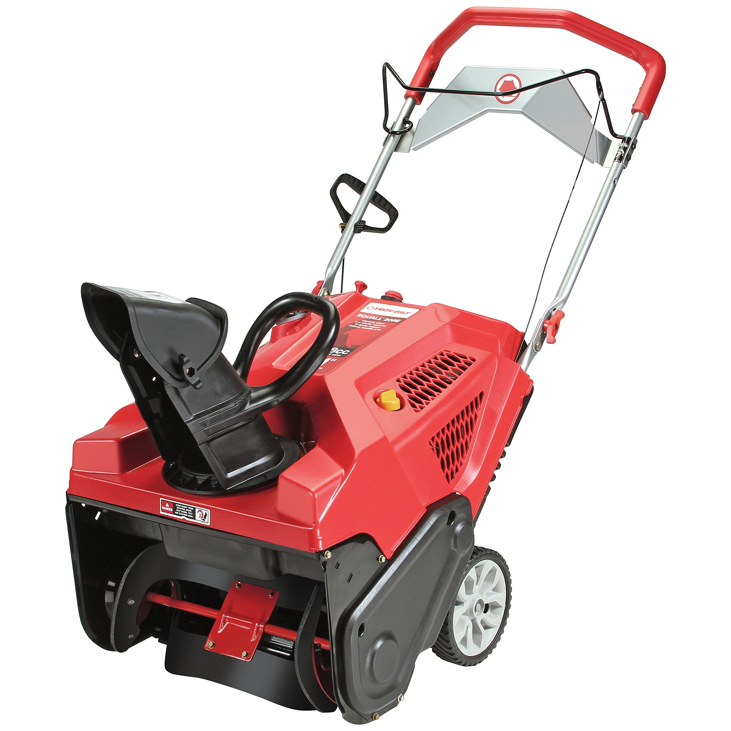 Troy-Bilt Squall 208cc Electric Start 21-Inch Single Stage Gas Snow Thrower by Troy-Bilt