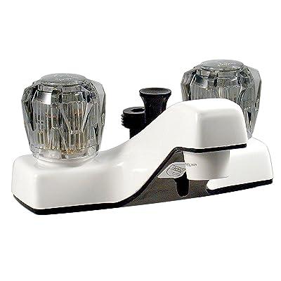"""Phoenix PF212242 Lavatory Shower Faucet, White, 4"""": Automotive"""