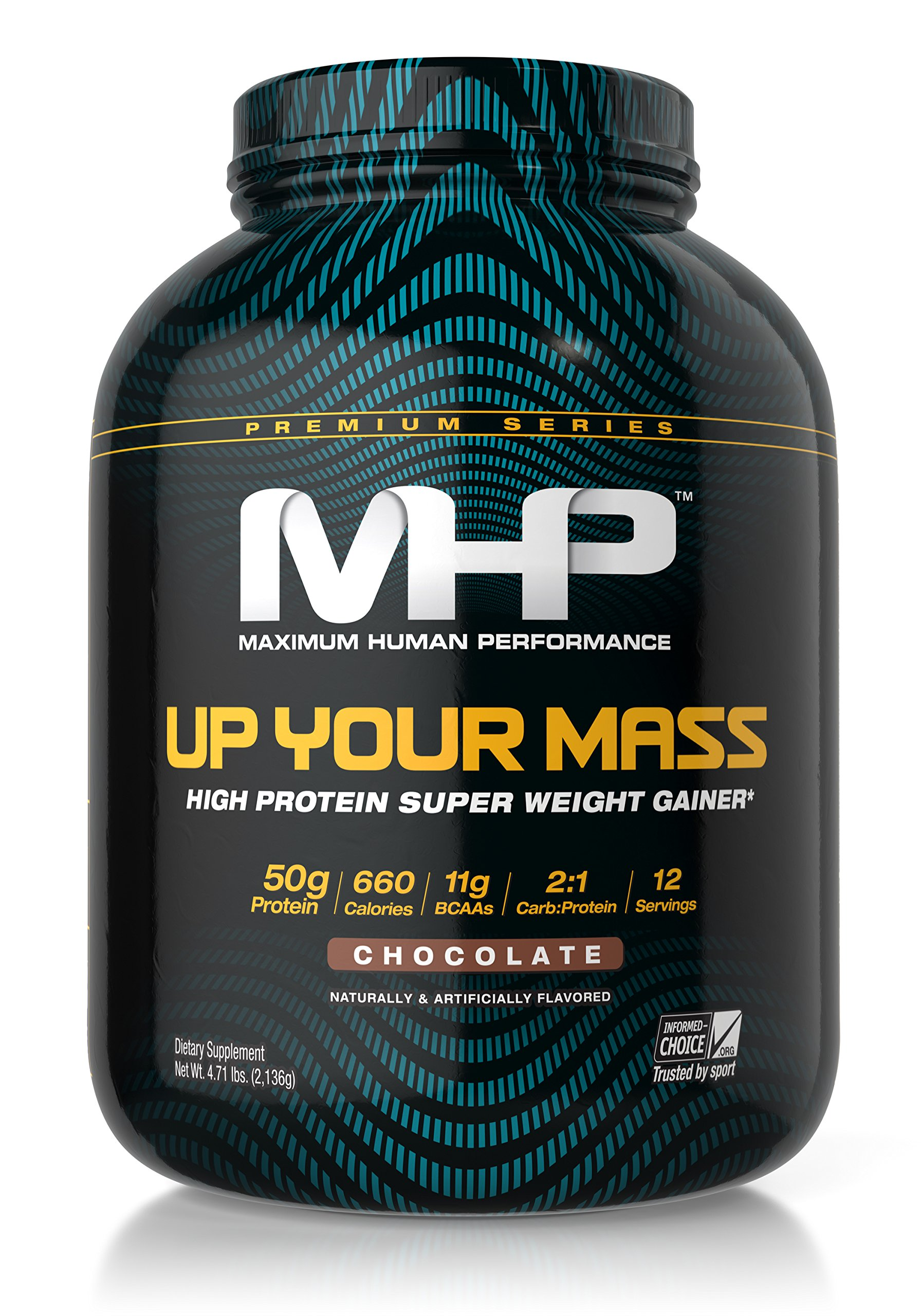 MHP Up Your Mass Supplement, Chocolate, 4.71 Pound