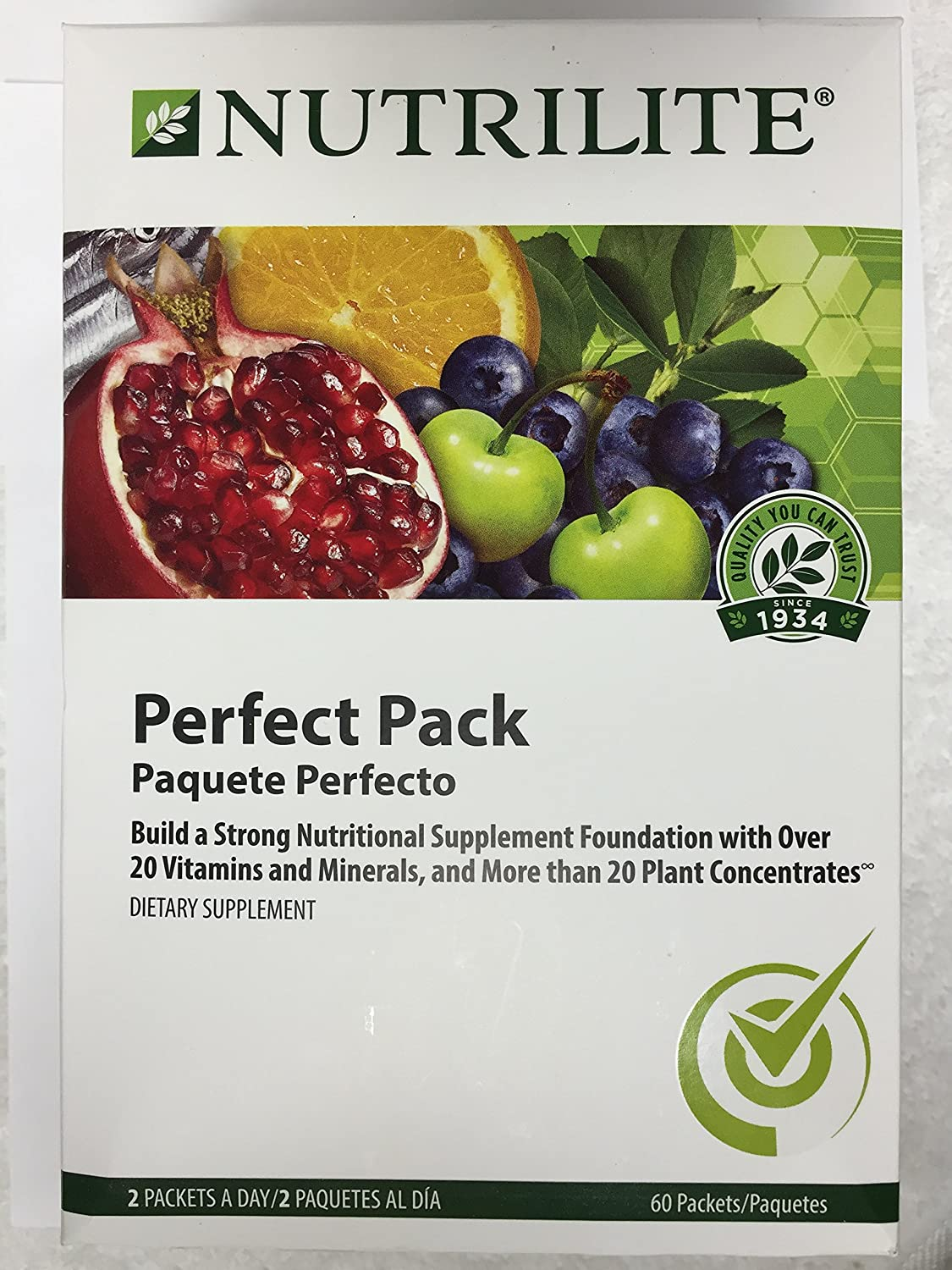 Nutrilite® Perfect Pack for Your Health Pack 60 packet