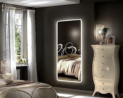 Hans Alice 65x22 Led Full Length Mirror Backlit Mirror Bedroom