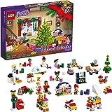 LEGO 41690 Friends Adventskalender 2021 Minibyggset, Julleksaker för Barn med 5 Minidockor
