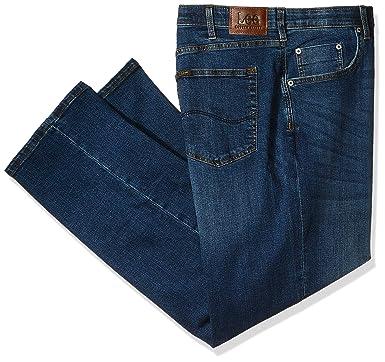 9317a7db LEE Men's Big-Tall Modern Series Custom-Fit Relaxed Straight-Leg Jean,