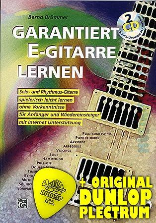 garantiza S Guitarra de aprendizaje (+ 2 CD s) Incluye Púa - Solo ...