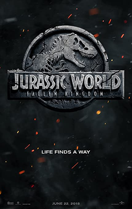Image result for jurassic world: fallen kingdom poster