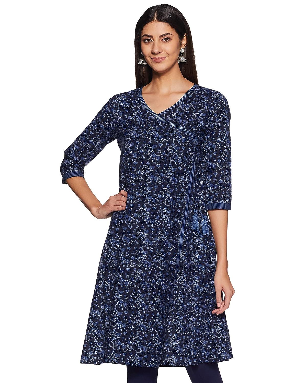 Women's Cotton Angrakha Kurti