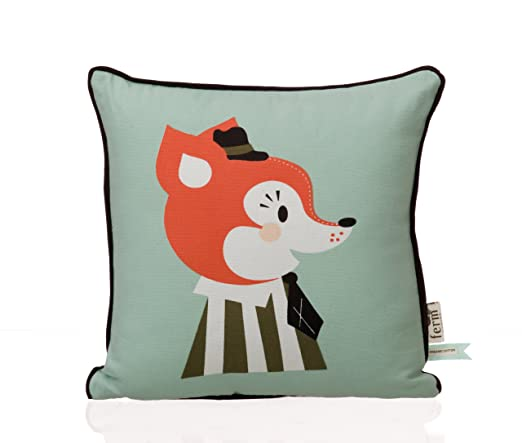 Ferm Living Mr. Frank Fox Cushion 30x30cm: Amazon.es: Hogar