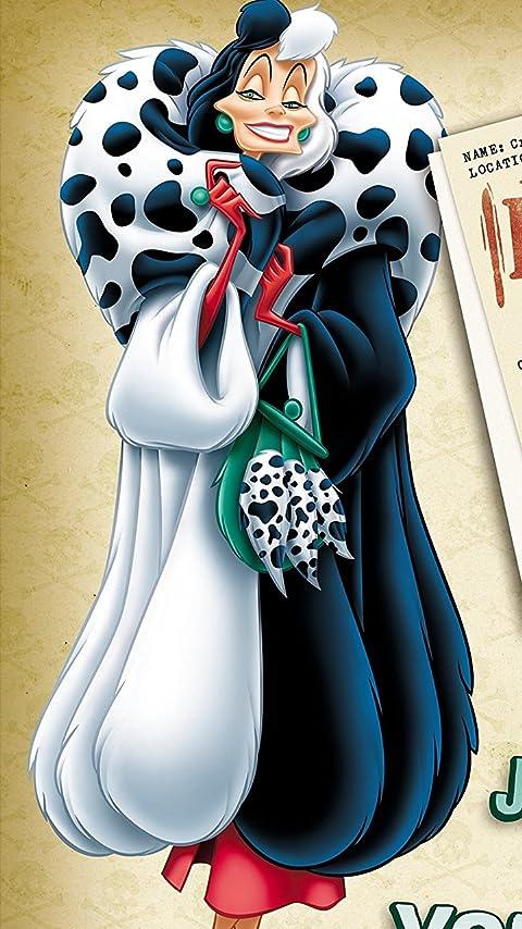 ディズニー クルエラ XFVGA(480×854)壁紙画像