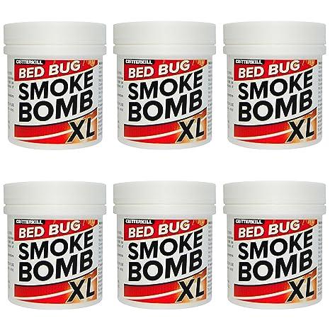 Bomba de humo XL Insecticida contra chinches, 15g, para cama, producto
