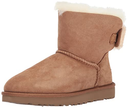 UGG Women's Bailey Bow II Boot Chestnut Size 6 | PlowHearth