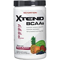 Scivation, Xtend BCAAs, Fruit Punch, 30 Servings