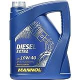 MANNOL Diesel Extra 10W-40 API CH-4/SL Motorenöl, 5 Liter