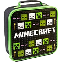 Minecraft, Insulated Lunch Bag for Kids, Official Merchandise, Gift, Mich-1021, Polyester