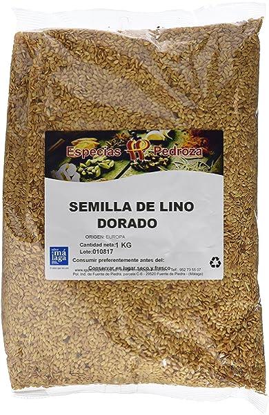Semillas de Lino Dorado - 3kg - Rica fuente de ácidos grasos ...