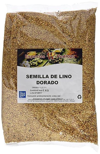 Especias Pedroza Semilla de Lino Dorado - 5 Paquetes de 1000 gr ...