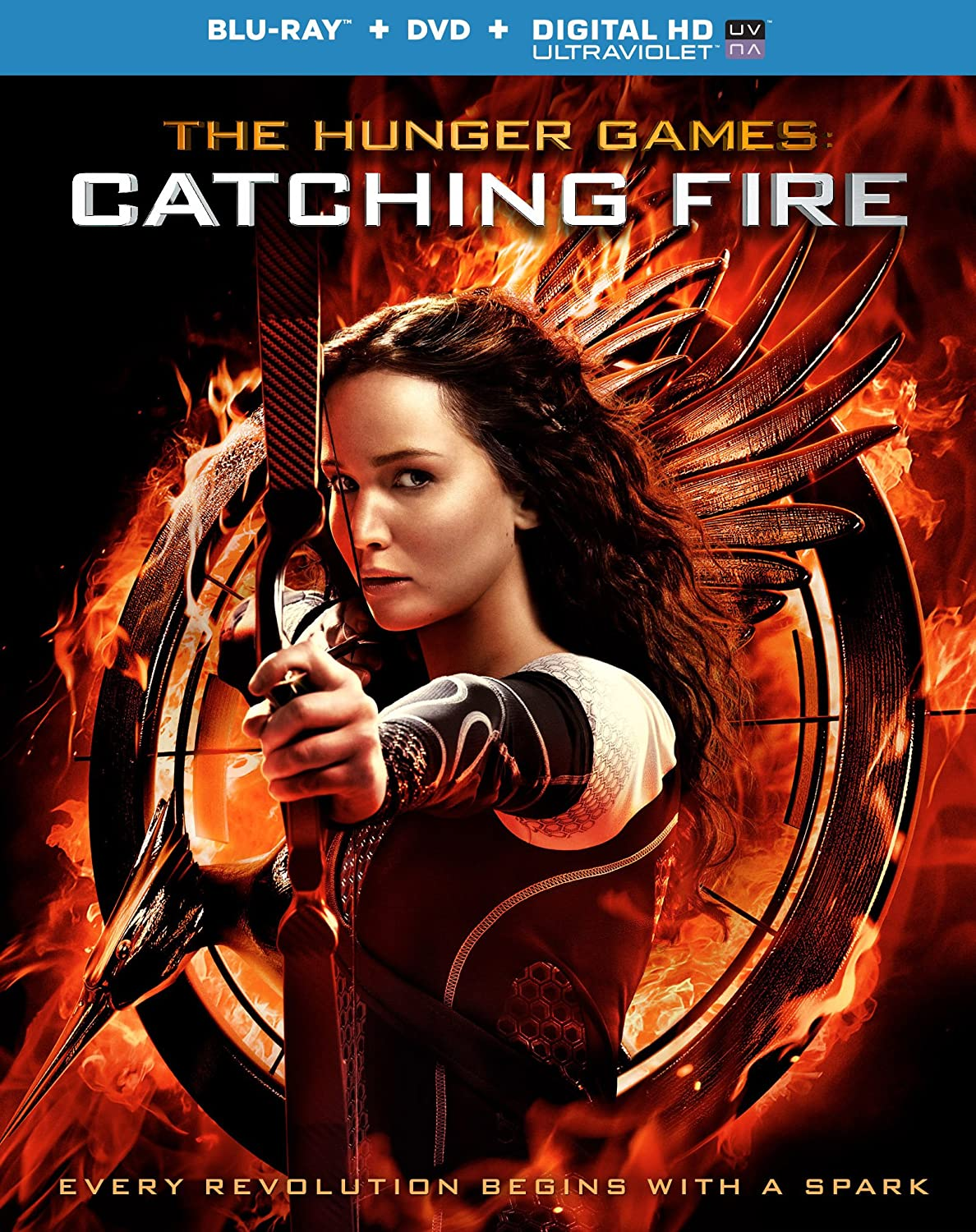 Hunger Games Catching Fire Blu Ray Import Dvd Blu Ray
