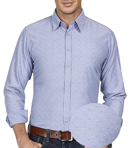 Amazon.com: PAUL JONES - Camisa de manga larga para hombre ...