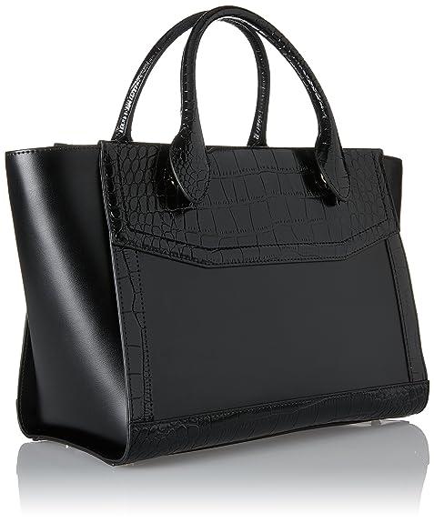 Cavalli Classe Olympia, Femmes Sacoche, Noir (noir), 15x23x30 Cm (bxht) Roberto Cavalli