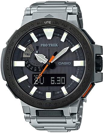 04633daabb [カシオ]CASIO 腕時計 PROTREK MANASLU 世界6局対応電波ソーラー PRX-8000T