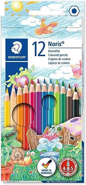 Staedtler Noris Club personas of the World Surtido de colores Lápices