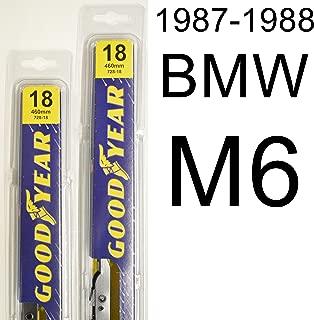 "product image for BMW M6 (1987-1988) Wiper Blade Kit - Set Includes 18"" (Driver Side), 18"" (Passenger Side) (2 Blades Total)"