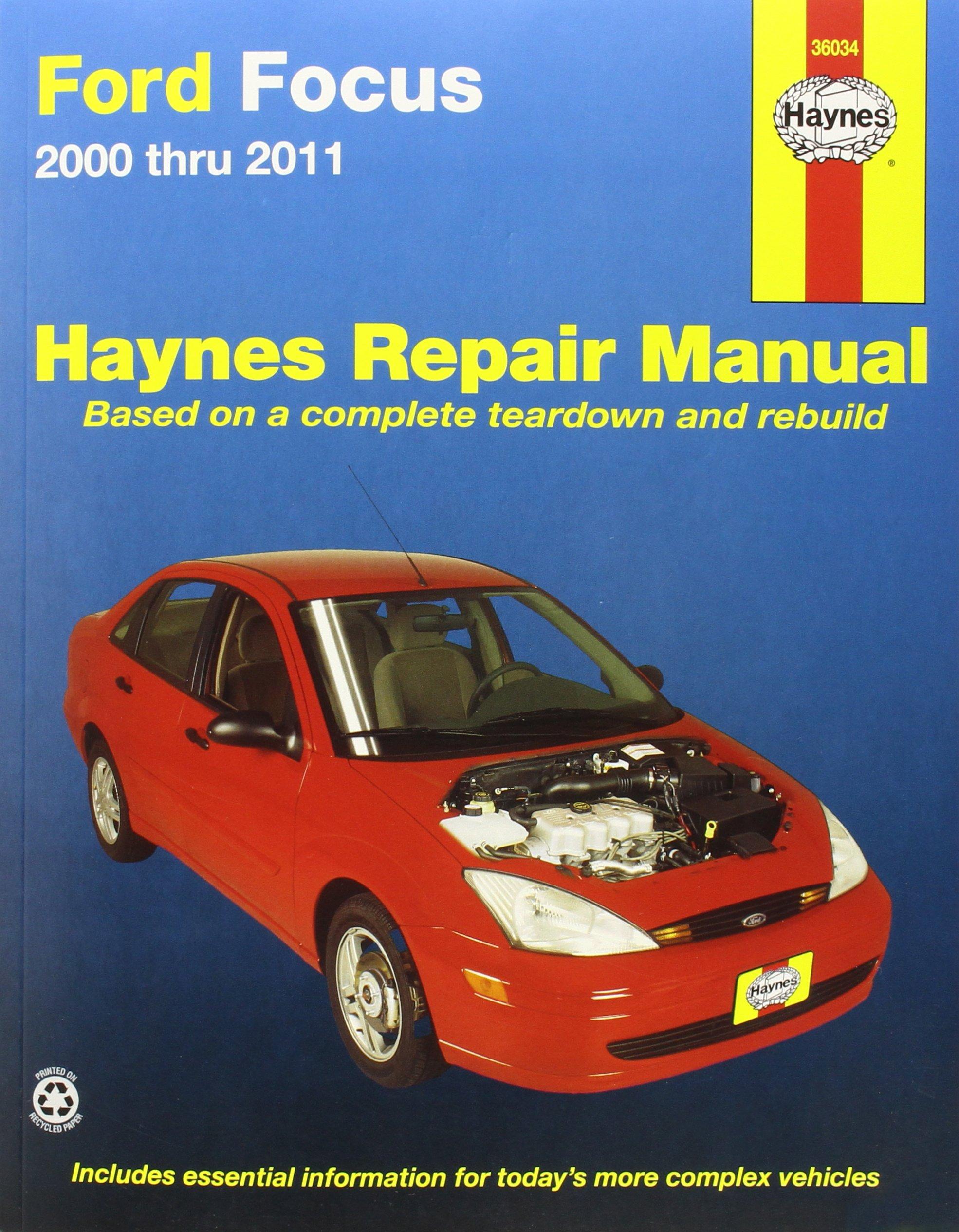 Ford focus automotive repair manual 2000 2007 haynes automotive repair manuals amazon co uk max haynes 9781620920008 books