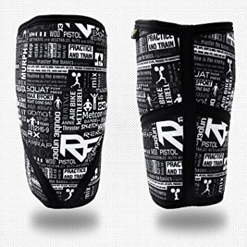 Amazon com: REACT FIT 7mm SBR Neoprene Knee Sleeves (1 Pair) Support