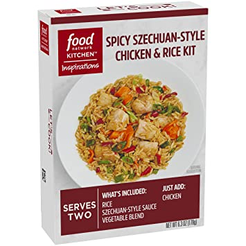 Amazon food network kitchen inspirations spicy szechuan style food network kitchen inspirations spicy szechuan style chicken rice meal kit forumfinder Images