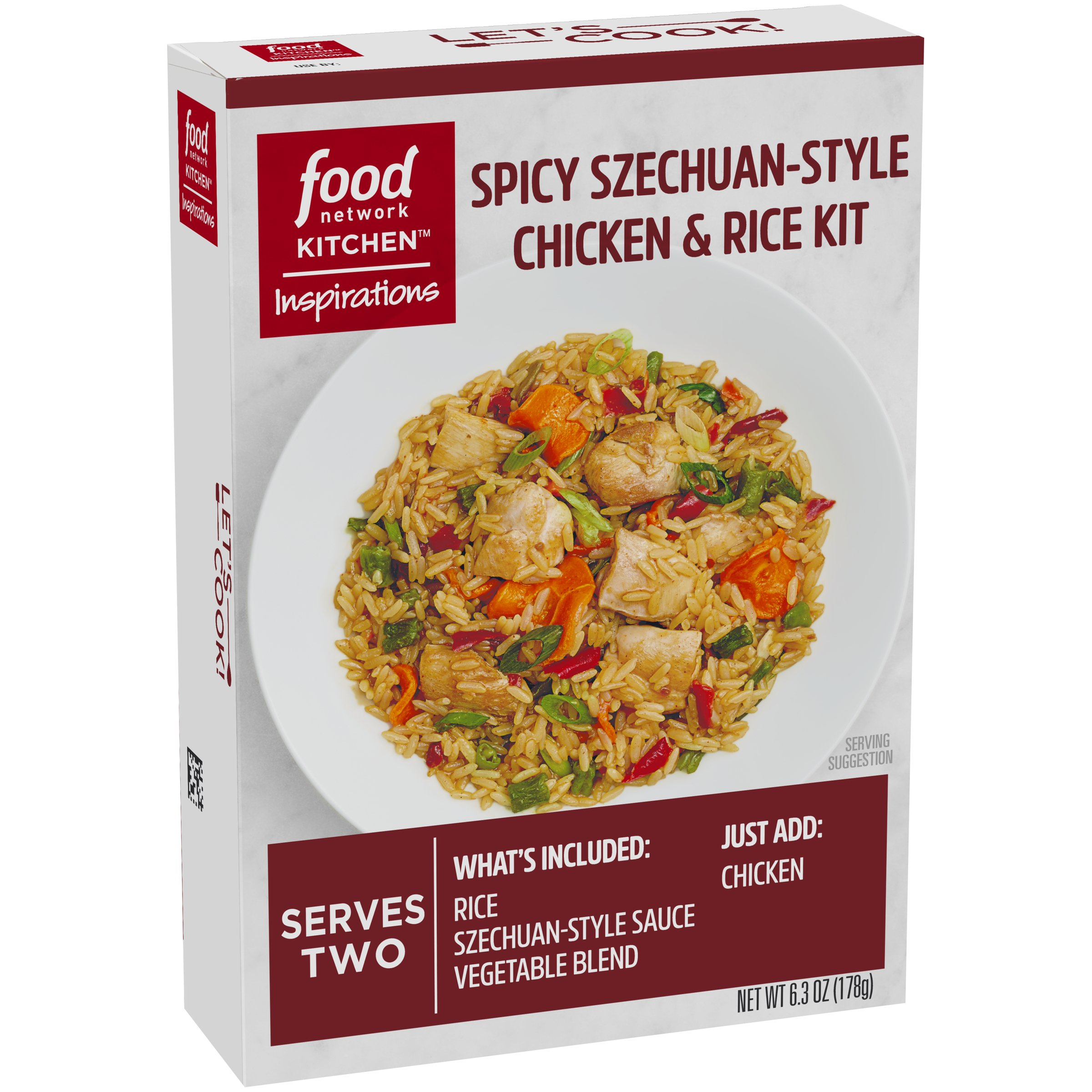 Amazon food network kitchen inspirations chicken pad thai meal food network kitchen inspirations spicy szechuan style chicken rice meal kit forumfinder Choice Image