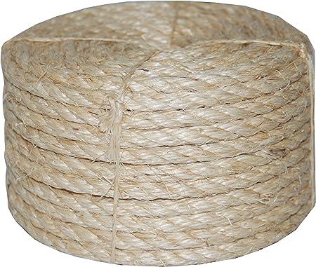 Amazon.com: Cuerda de sisal TW Evans Cordage 23 410. Cuerda ...