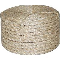 T.W. Evans Cordage 23–4103/8-inch x 100') trenzado cuerda de sisal