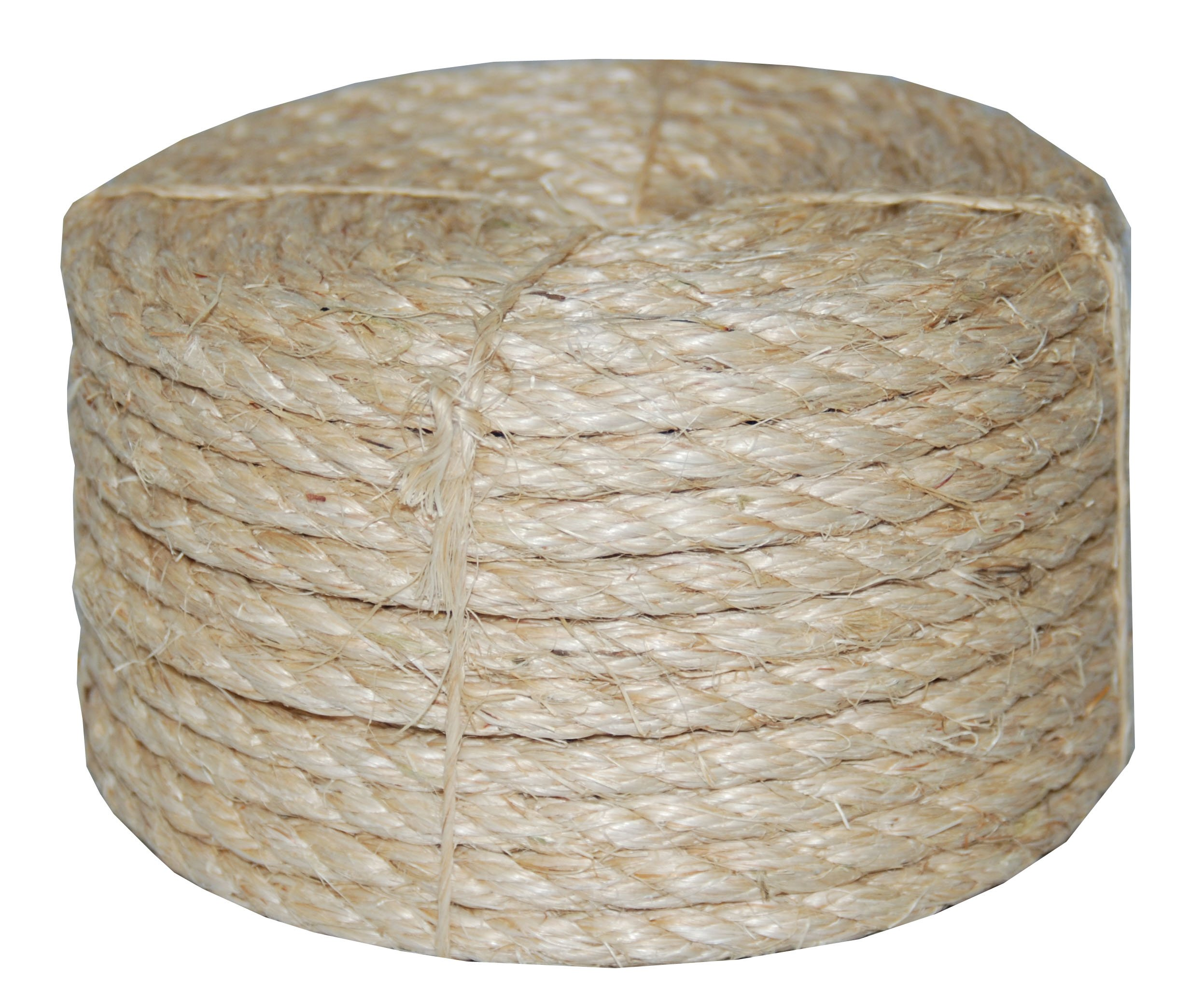 T.W Evans Cordage 23-410 3/8-Inch by 100-Feet Twisted Sisal Rope