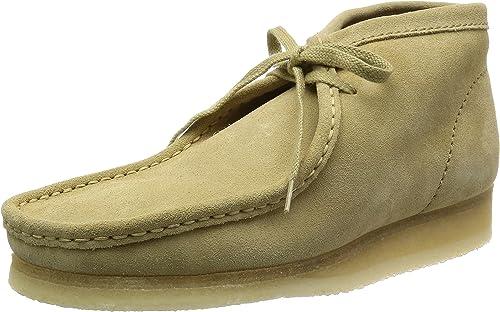 Clarks Originals Mens Wallabee Maple Suede Boots 42 EU