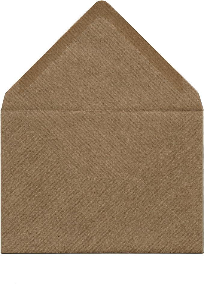 die Roten 120 g//m/² 11,4 x 16,2 cm DIN C6 5 Farben je 4 Umschl/äge 20x Umschlagpaket ca Serie Farbenfroh