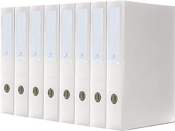 Bindertek 3-Ring 2-Inch Premium Linen Textured Binder