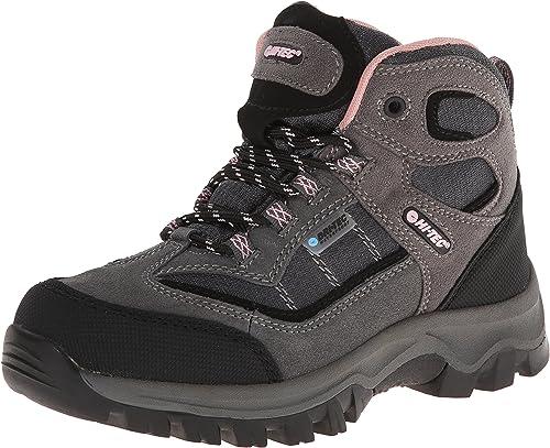 Hi-Tec Kids Hillside Waterproof Jr High Rise Hiking Boots