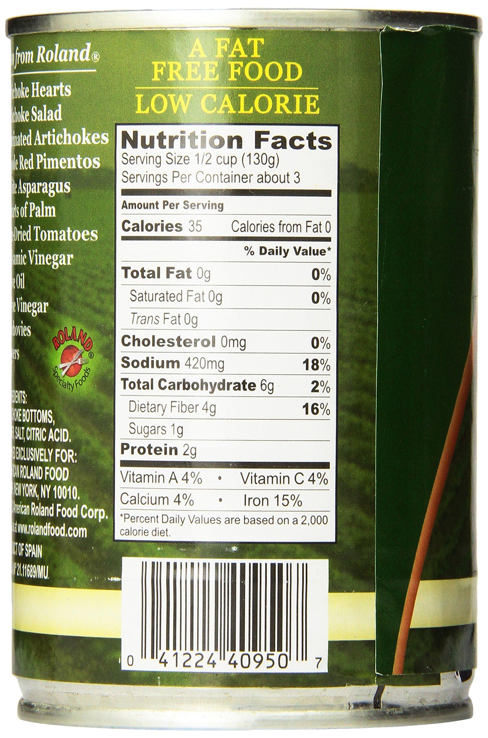 Roland Foods Artichoke Bottoms, Medium, 13.75 Ounce (Pack of 6)
