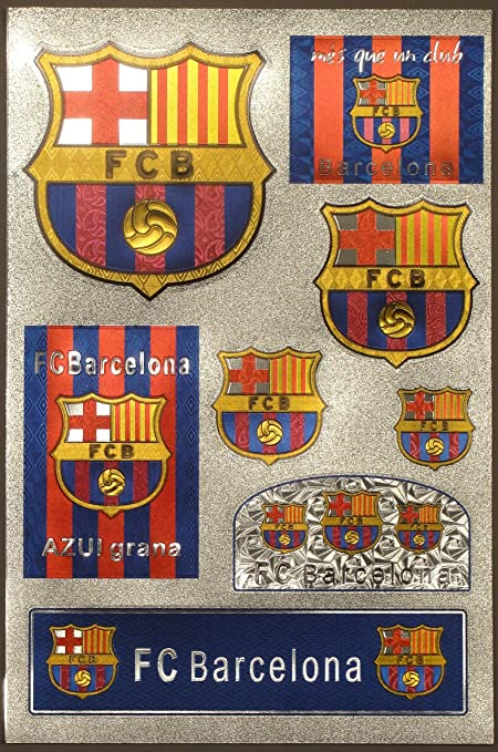 eac8d9e30fd Amazon.com   fc barcelona futbol football soccer sticker decal ...