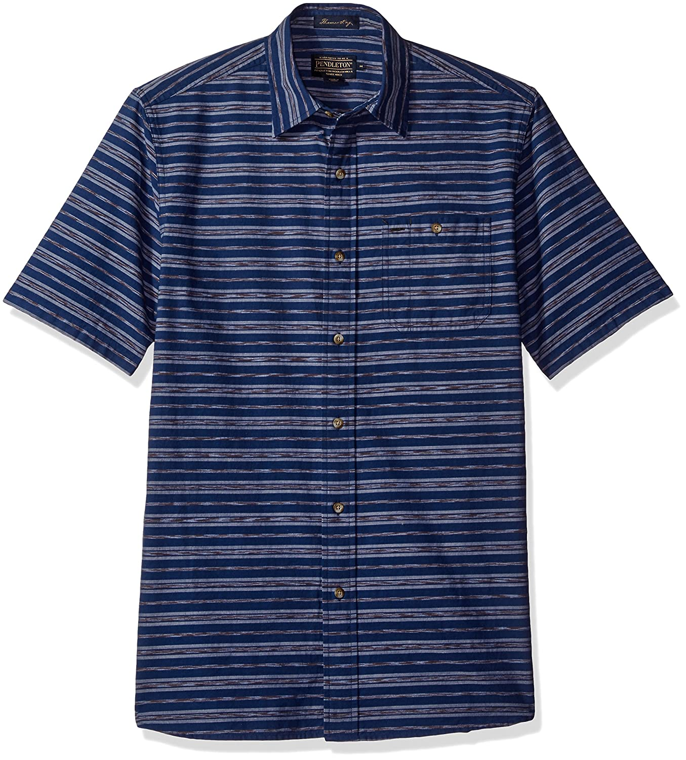 Pendleton Mens Short Sleeve Fitted Kay Street Shirt