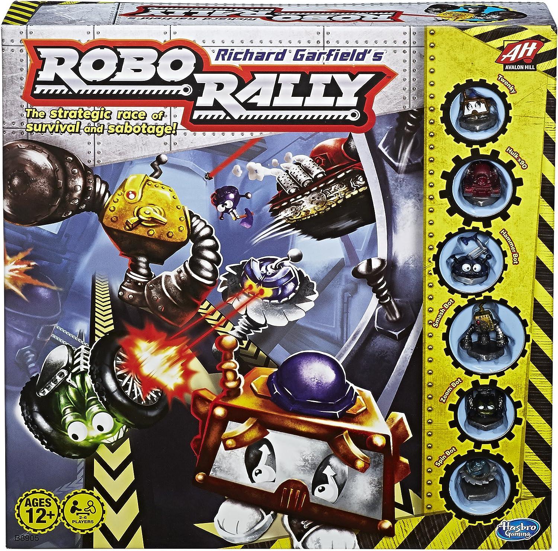 Avalon Hill Robo Rally (edición 2016): Amazon.es: Juguetes y juegos