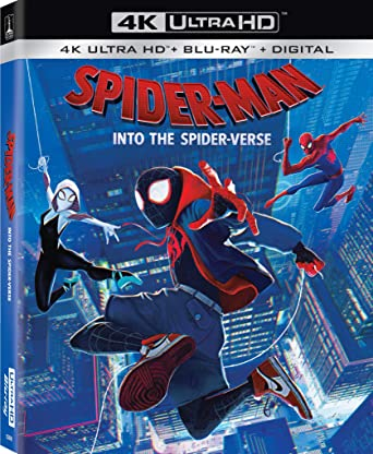 Amazon Com Spider Man Into The Spider Verse Blu Ray Shameik