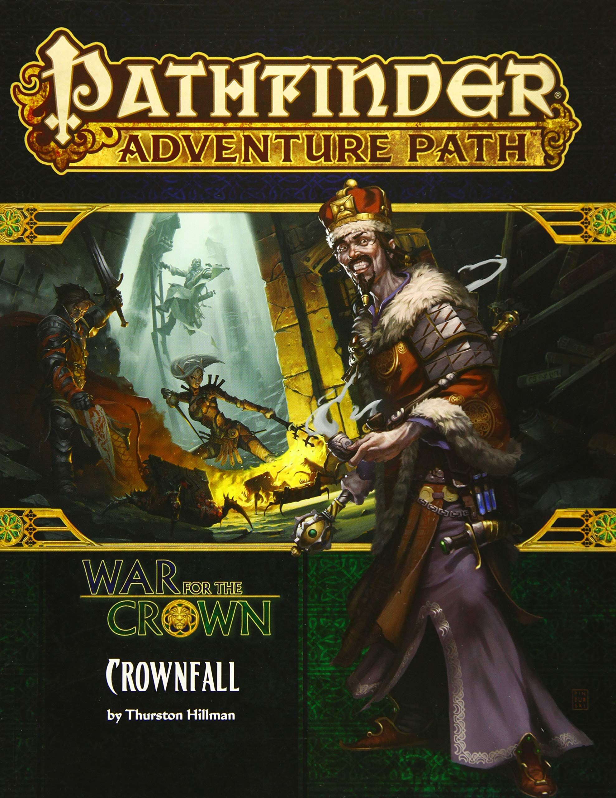 Pathfinder Adventure Path: Crownfall (War for the Crown 1 of