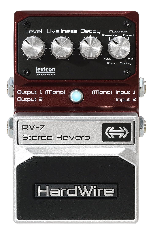 DigiTech RV-7 - Pedal de efecto reverb para guitarra ...