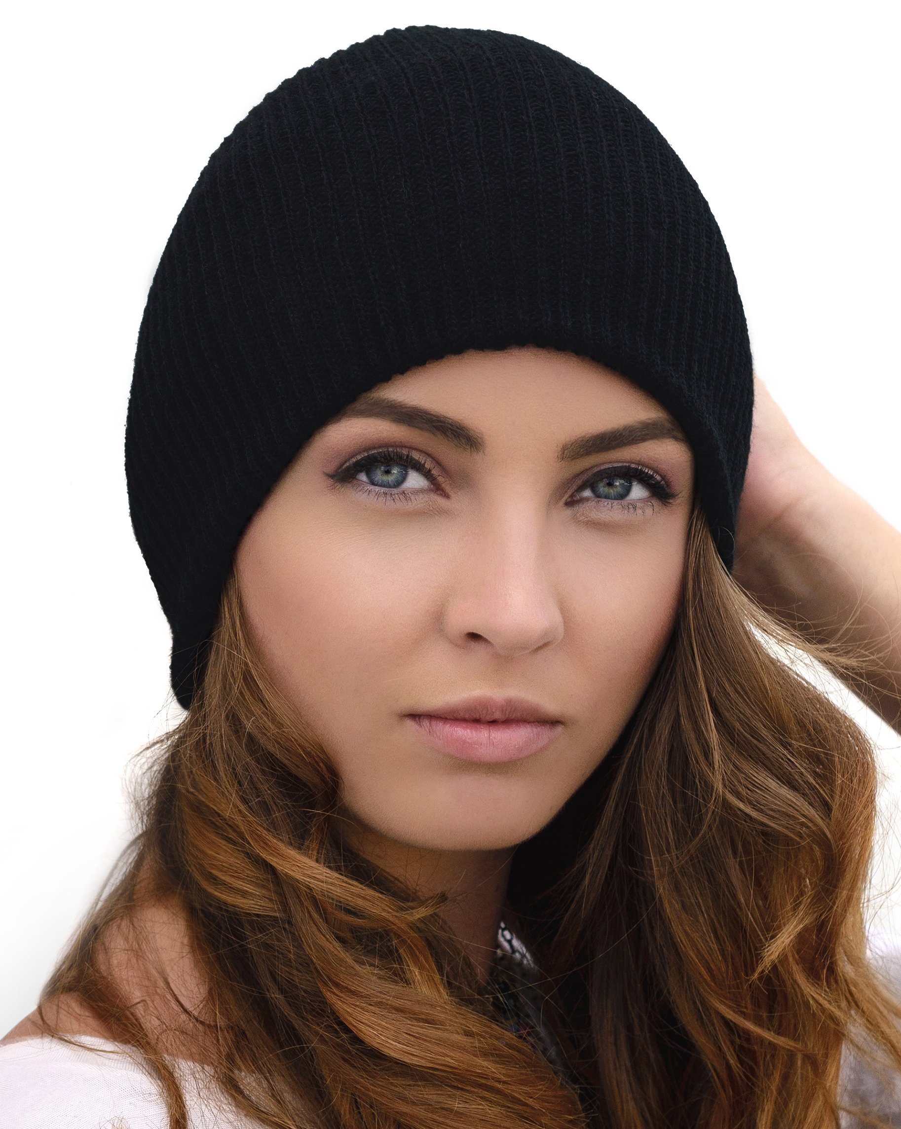 Winter Hats For Women Who Are Looking For Something Warm, Stylish And Soft,Black,One Size