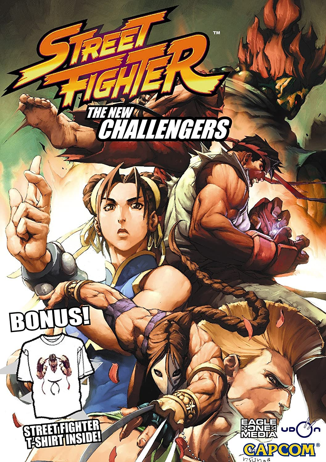 Amazon Com Street Fighter The New Challengers Ryu Street