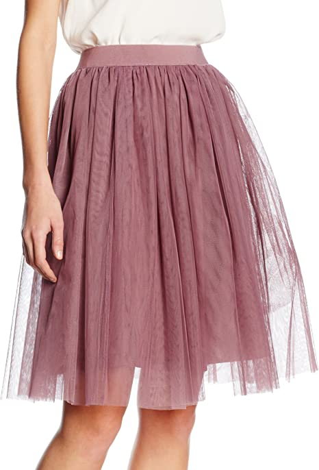 Boohoo Boutique Tulle Falda, Pink (Mauve), 40 para Mujer: Amazon ...