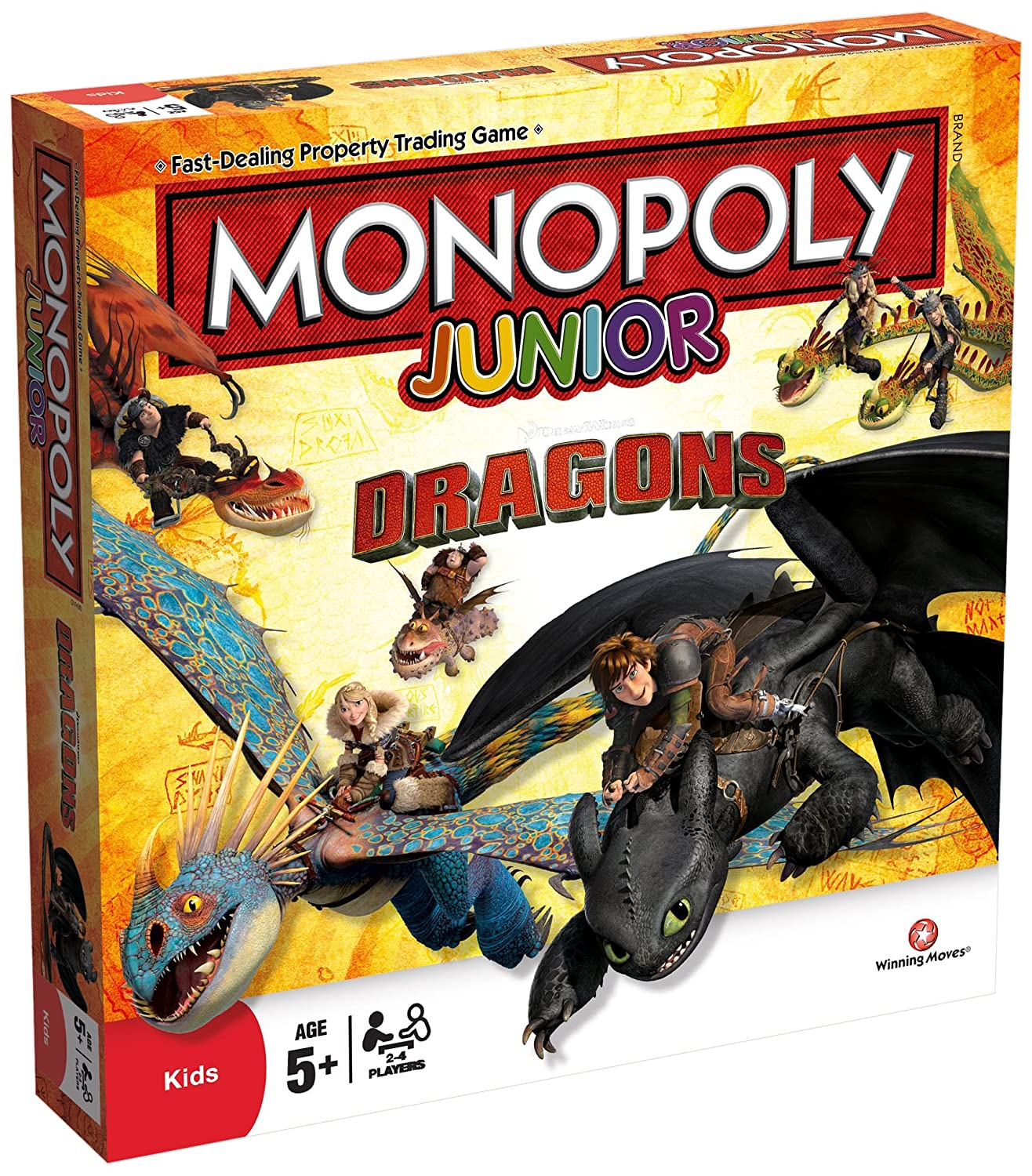 Dragons Monopoly Junior Board Game
