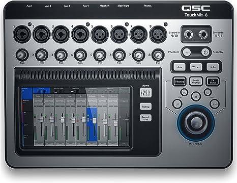 TouchMix-8 Mesa de mezcla digital: Amazon.es: Electrónica
