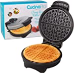Waffle Maker by Cucina Pro - Non-Stick Waffler Iron with Adjustable