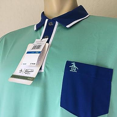 5e54aec4514d Original Penguin Men s Golf Munsingwear Dri Fit Polo Shirt Short Sleeve  Shirts (XX-Large